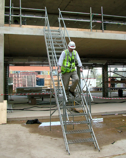 Australian Scaffold Stairs And Temporary Access